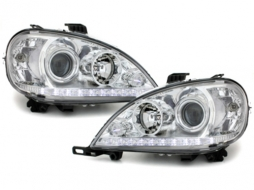 Headlights suitable for MERCEDES Benz ML W163 99-01 Chrom