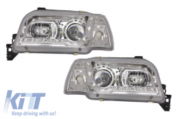 HeadLights suitable for RENAULT Clio 1 S57 (1991-1996) Crom - 940392