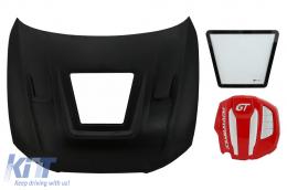 Hood Bonnet with Engine Cover suitable for Audi A5 B8.5 (2012-2016) GT Design - HDAUA58TF
