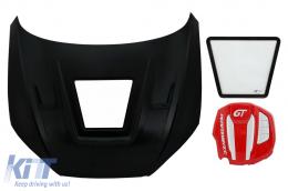 Hood Bonnet with Engine Cover suitable for Audi A5 B9 (2016-2019) GT Design - HDAUA5F5