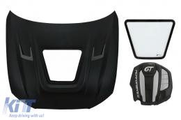 Hood Bonnet with Engine Cover suitable for Audi A6 C7 4G (2012-2018) GT Design - HDAUA64G