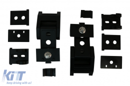 Hood Lock Kit for Jeep Wrangler JK JL (2007-2018) - BRHDJEWJK