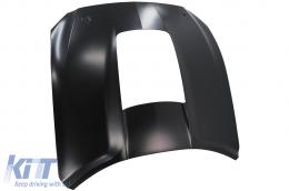 Hood suitable for FORD Mustang Mk6 VI Sixth Generation (2015-2017) GT 500 Design - HDFMUGT