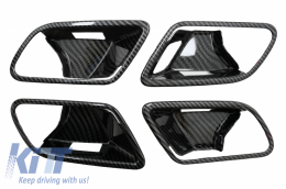 Inner Door Cover Handle Bowl Trim suitable for Mercedes A-Class W177 V177 (2018-Up) LHD Carbon - INFRMBW177