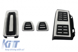 KIT OF PEDAL FOOTREST Audi A3 8V, suitable for VW Golf 7, Seat Leon 5F, Skoda Octavia 3 Manual - KPAU01