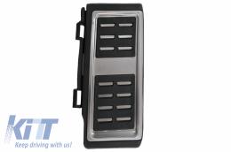 KIT OF PEDAL FOOTREST Audi A3 8V, suitable for VW Golf 7, Seat Leon 5F, Skoda Octavia 3 Automatic - KPAU04