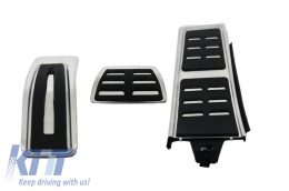 KIT OF PEDAL FOOTREST Audi A4 B8 (2008-2015), Audi A5 (2008-2016), Q5 (2008-2016), A6 (2011-2015), A7, suitable for PORSCHE Macan Automatic - KPAU02