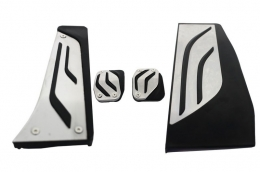 KIT OF PEDAL FOOTREST suitable for BMW 1 Series F20, 2 Series F22, 3 Series F30, 4 Series F32 Manual - KPBM02
