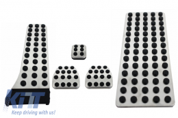 KIT OF PEDAL FOOTREST suitable for MERCEDES C-class W204, E-class W211, GLK  Manual - KPMB02