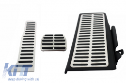 KIT OF PEDAL FOOTREST suitable for VW Passat B6 (2005-2010), Passat B7 (2010-2014), Passat CC Automatic - KPVW02
