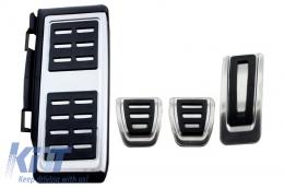 KIT OF PEDAL FOOTREST Volkswagen VW Golf 7 VII, Passat B8, Tiguan 2016, Touran 2016, Audi A1 8x, A3 8V, TT 8s, Q2, Seat Leon 3 5F Manual Gearbox - KPVW04