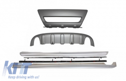 Kit Off-road Skid Plates and Side Skirts suitable for Volvo XC60 (2008-2013) R Look - COVXC60OP