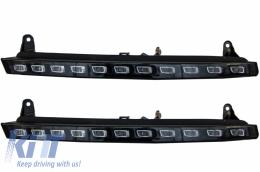 LED DRL Daytime Running Lights suitable for Audi Q7 4L (2006-2009) Turning Lights Facelift Design - AUQ7DRL
