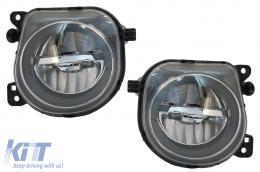 LED Fog Light Projectors suitable for BMW 5 Series F07 F10 F11 F18 LCI (2014-up) Facelift M-tech M Sport - FLBMEF10LCI
