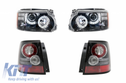 LED Headlights and Taillights suitable for Range Rover Sport L320 (2009-2013) Facelift Design - COHLRRSFOE320F