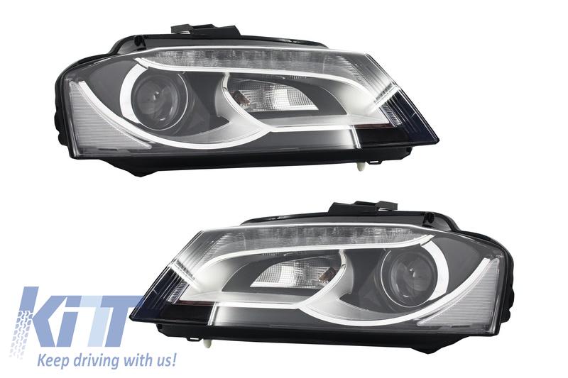 led headlights suitable for audi a3 8p1 2008 2012 design. Black Bedroom Furniture Sets. Home Design Ideas