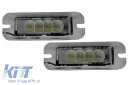 LED License Plate Lamp Mercedes Benz W463 G-Class (1989-up) - LPLMBW463C