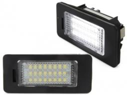 LED License Plate Lights Audi A1 8X, A3 8V, A4/S4 8K, A5/S5 8T, A6 4G/C7, A7 4G/C7, TT 8J, Q3, Q5 - LPLAU11/V-030802