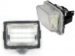 LED License Plate Mercedes Benz W204, W221, W212 - LPLMB02/V-030203