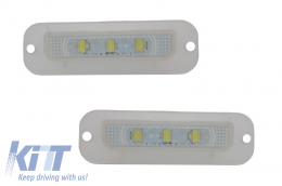 LED License Plate suitable for MERCEDES G-Class W463 (1989-up) - LPLMBW463