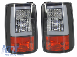 LED LightBar Taillights VW Volkswagen Caddy 3 Type 2k (2004-2015) Black - 930484