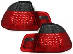 LED Tail Lights BMW E46 4D 98-01 Red/Smoke - RB21LRB