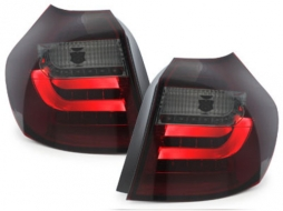 LED taillights BMW 1er E87 07-11 red / smoke