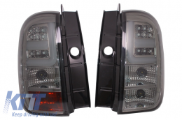 LED Taillights Light Bar for DACIA Duster 2010-2017 Smoke