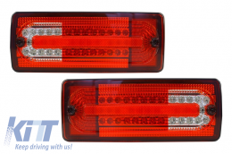 Led Taillights Mercedes Benz G-class W463 (1989-2015) Red/Clear