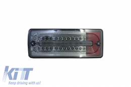 Led Taillights Mercedes Benz G-class W463 (1989-2015) Smoked/Red