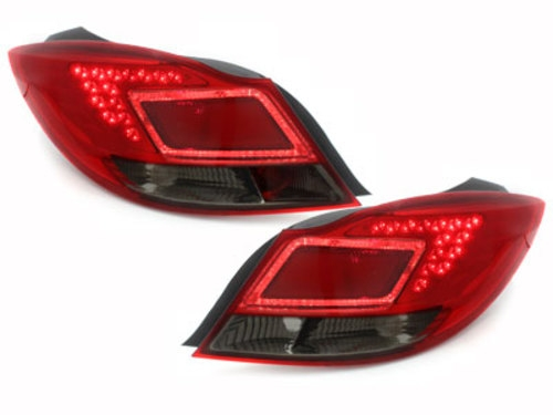 led taillights opel insignia red smoke. Black Bedroom Furniture Sets. Home Design Ideas