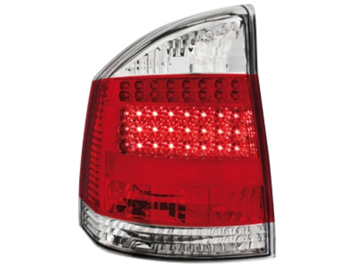 led taillights opel vectra c 2002 2007 red crystal. Black Bedroom Furniture Sets. Home Design Ideas