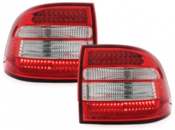 LED Taillights Porsche Cayenne 9PA (2003-2006) Red/Crystal