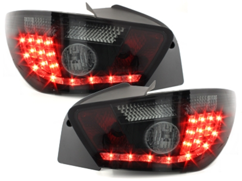 led taillights for seat ibiza 6j 3d 08 black smoke with. Black Bedroom Furniture Sets. Home Design Ideas