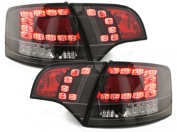 LED taillights suitable for AUDI A4 Avant B7 04-08_ LED indicators _black - RA16SLBL/1017898