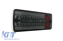 Led Taillights suitable for MERCEDES Benz G-class W463 (1989-2015) Smoked/Red - TLMBW463BR
