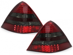LED Taillights suitable for MERCEDES Benz SLK R170 (2000-2004) Red/Smoke