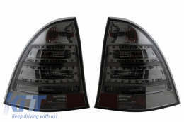 LED Taillights suitable for MERCEDES C-Class S203 Station Wagon (2001-2007) Smoke - TLMBW203/LDME62