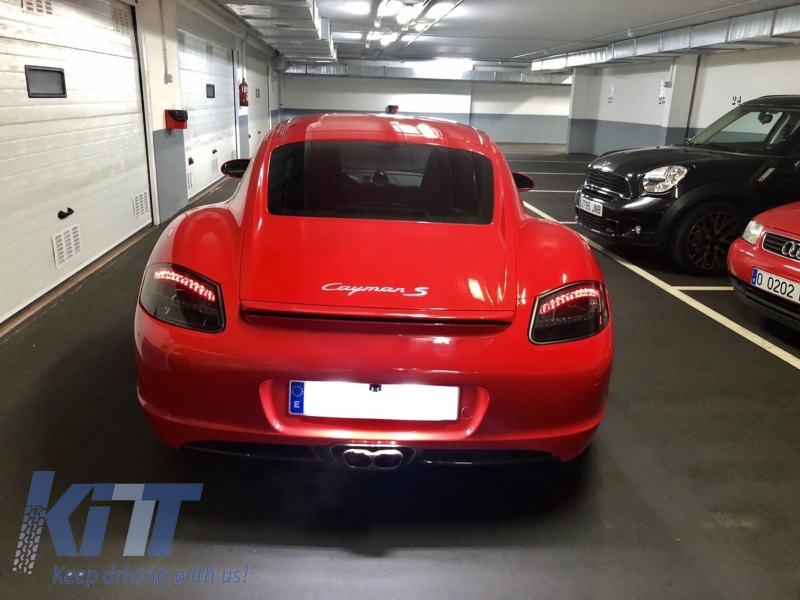 Led Taillights Suitable For Porsche Boxster 987 2005 2008