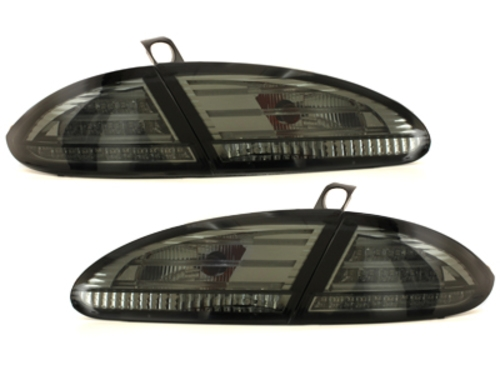 LED taillights suitable for SEAT Leon 05-09 _ smoke_with LED indicator