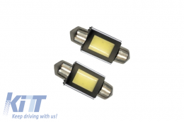License Plate Festoon Canbus COB 12V 36mm - FESTOONLEDCOB