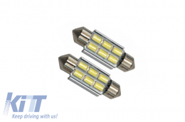 License Plate Festoon Led 6 SMD CanBus 5630 12V 36mm - FESTOONLED6SMD