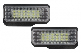 License Plate LED Lamp suitable for MERCEDES Benz E-Class, C-Class W203, CLS W219 - LPMB01