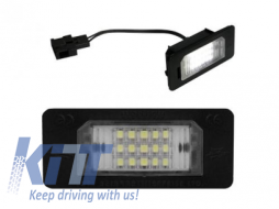 License Plate LED Lamp volkswagen golf, passat, touareg etc -