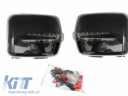 Mercedes W463 G-Class Mirror Covers With Arrow Led Turning Lights (1990-2012) - MCW463