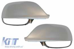 Mirror Caps Covers Extinction Aluminium suitable for AUDI Q5 / SQ5 8R (11/2008-2016) Q7 / SQ7 4L facelift (06/2009-08/2015) - MCAUQ58R/34206