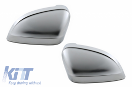 Mirror Covers Audi A4 B9 (2016-) Extinction Aluminium Plated Complete Housing - MCAUA4B9