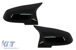 Mirror Covers suitable for BMW 1/2/3/4 Series Glossy Black