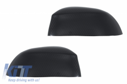 Mirror Covers suitable for BMW X3 F25 X4 F26 X5 F15 X6 F16 (2014-2018) Real Carbon Fiber - 89704CFR