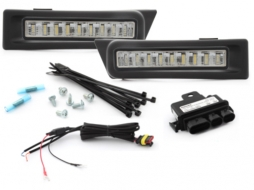 MODULITE daytime running light suitable for SKODA Fabia 5J 07+, Roomster 08+